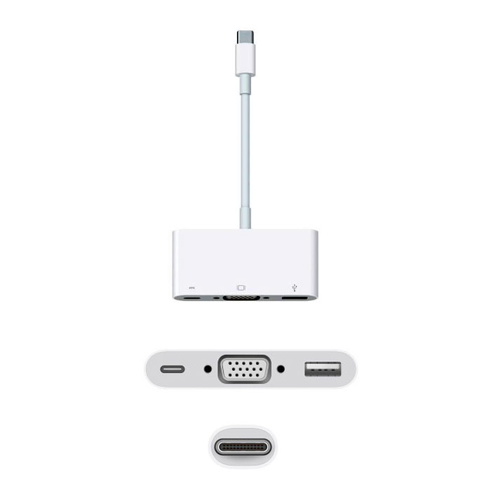 Apple USB-C VGA Multiport
