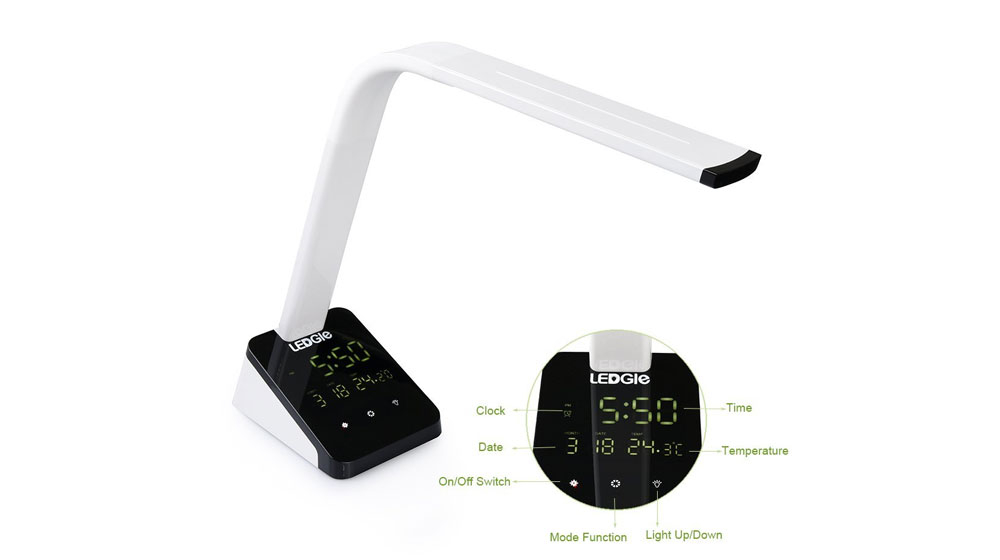 LED Desk Lamp White 10W
