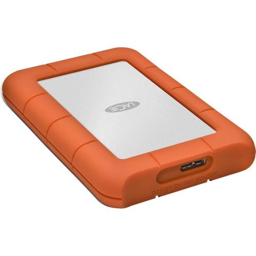 """Lacie 4TB 2.5""""USB3.0 Rugged Mini"""