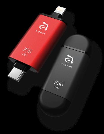 iKlips C Apple lightining USB-C flash drive 128GB