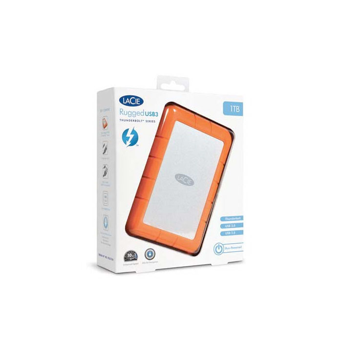 LaCie Rugged USB 3.0 1TB