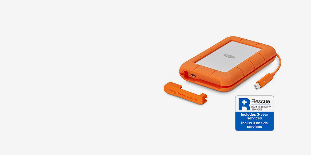 LaCie Rugged USB 3.0 Thunderbolt™ Series